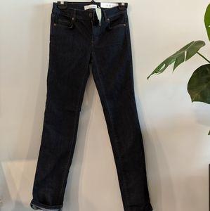 NWT Loft Jeans 24P Modern Straight Leg